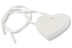 Coeur à suspendre en céramique - Supports en Céramique et Terre Cuite – 10doigts.fr