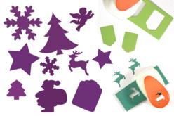 Perforatrices fêtes de Noël