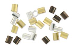 Perles tubes à écraser - 180 perles - Perles à écraser – 10doigts.fr