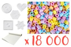 Perles à repasser - Kit complet pour activité - Kits activités clés en main – 10doigts.fr - 2