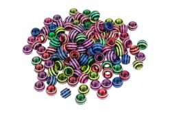 Perles abeilles couleurs vives - 100 perles - Perles acrylique – 10doigts.fr - 2