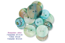 Perles boutons