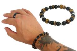 Mix perles Rock'n roll - 200 perles - Perles tons neutres – 10doigts.fr - 2