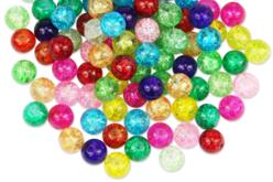 perles craquelées en verre
