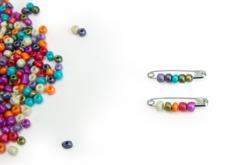 Grosse perles de rocaille nacrées - 4000 perles - Perles de rocaille – 10doigts.fr - 2