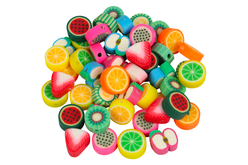 Perles fruits - 50 perles - Perles en pâte polymère – 10doigts.fr - 2