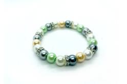 Perles rondes nacrées - 500 perles - Perles nacrées – 10doigts.fr - 2