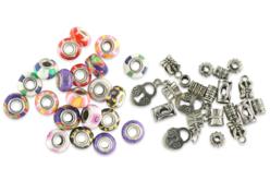 Perles polymère et charm's - 39 perles - Perles de Pandora – 10doigts.fr - 2