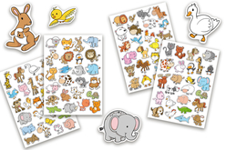 petits animaux stickers