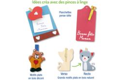 Pinces à linge couleurs assorties - Set de 50 - Pinces à linge colorées – 10doigts.fr - 2