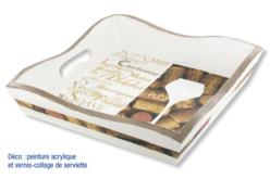 Mini-plateaux en bois - Set de 24 - Plateaux en bois – 10doigts.fr - 2