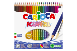 Crayons de couleur aquarellables Carioca - Crayons aquarelles – 10doigts.fr - 2