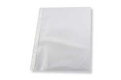 pochettes doubles en plastique transparent Format A4