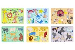 Pochoirs animaux - Set de 6 - Pochoirs Animaux – 10doigts.fr - 2