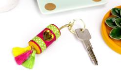 Porte-clés dorés ou argentés - Lot de 10 - Porte-clés pour bijoux – 10doigts.fr - 2
