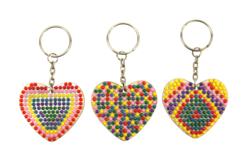 Kit porte-clés diamants - Lot de 6 - Porte-clés pour bijoux – 10doigts.fr - 2