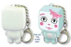 Porte-clefs Toto le Petit Robot