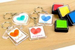 Porte-clés en plastique transparent à personnaliser - Plastique Transparent – 10doigts.fr - 2