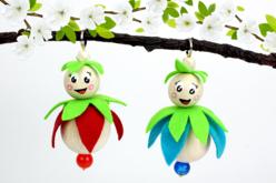 Perles rondes en bois naturel - Taille au choix - Perles en bois – 10doigts.fr - 2