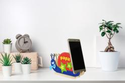 Porte-smartphone escargot - Divers – 10doigts.fr - 2