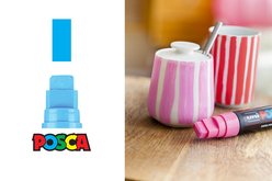 POSCA pointes extra-larges - 8 marqueurs - Feutres pointes larges – 10doigts.fr - 2