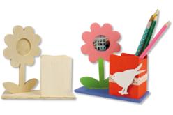 Pot à crayons fleur - Pots à crayons – 10doigts.fr