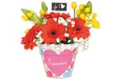 Pot de fleurs à décorer - Activités faciles à réaliser – 10doigts.fr - 2