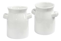 Vases en porcelaine - Lot de 12 - Supports en Céramique et Terre Cuite – 10doigts.fr