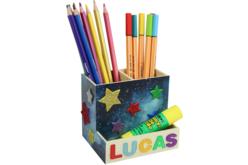 Pot à crayons - 3 compartiments - Pots à crayons – 10doigts.fr - 2