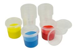 Pots hermétiques 125 ml - 10 pots - Palettes et rangements – 10doigts.fr