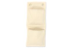 Range-courrier en coton - Support textile à customiser – 10doigts.fr - 2