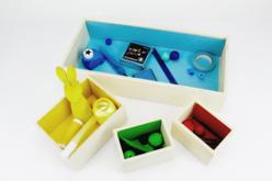 Boîte en bois - 10 compartiments amovibles - Boîtes et coffrets – 10doigts.fr - 2