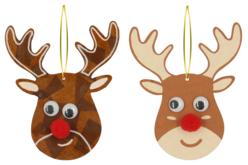 Suspension renne de Noël - Suspensions et boules de Noël – 10doigts.fr - 2