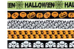 Rubans Halloween - Set de 5 - Halloween – 10doigts.fr