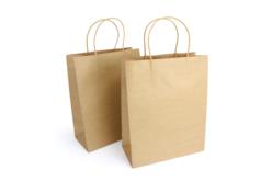 Sacs en kraft Naturel - Lot de 6 - Sacs et Papiers cadeaux – 10doigts.fr - 2