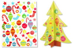 Sapin 3D à décorer avec des gommettes - Kits activités Noël – 10doigts.fr - 2