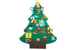 Sapin géant en feutrine + accessoires - Kits d'activités Noël – 10doigts.fr - 2