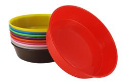Coupelles en plastique, 10 couleurs assorties - Palettes et rangements – 10doigts.fr