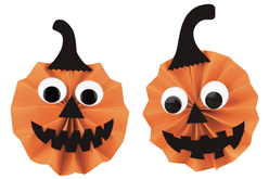 Feuilles de papier couleurs assorties - Set de 10 - Halloween – 10doigts.fr - 2