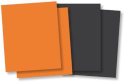 Plaques de caoutchouc souple orange ou noir - Lot de 10 - Halloween – 10doigts.fr