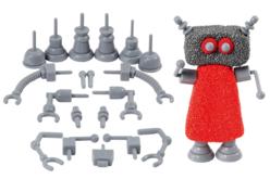 Set de 19 accessoires pour création de robots avec les pâtes Soft Clay ou Foam Clay