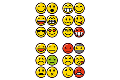 Stickers Smiley - Stickers Fantaisies – 10doigts.fr