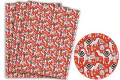 Papier Décopatch dromadaires - 3 feuilles N°826 - Papiers Décopatch – 10doigts.fr