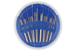 Aiguilles à coudre - 30 pièces - Aiguilles – 10doigts.fr