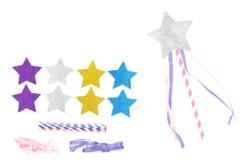 Kit création de baguettes magiques - Set de 4 - Mardi gras, carnaval – 10doigts.fr - 2