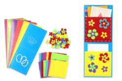 Porte-courriers fleuris - Set de 6 - Range-courriers et autres – 10doigts.fr - 2