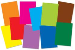 Papiers colorés 32.5 x 50 cm - 60 feuilles - Papiers couleurs – 10doigts.fr - 2