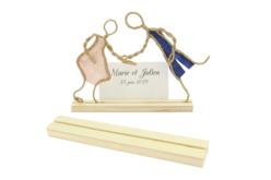 Socle en bois avec une fente - Divers – 10doigts.fr