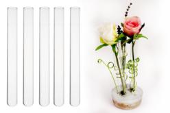 Soliflores en verre - Lot de 5 - Supports en Verre – 10doigts.fr