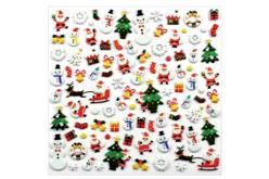Stickers Noël 3D - 94 stickers - Gommettes Noël – 10doigts.fr